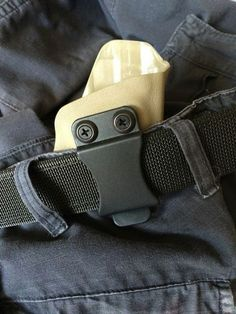 This is a customized inside the waistband holster made of Kydex and keeps your weapon concealed but always ready. Inside The Waistband Holster, Holsters, Gloves, Belt, Fitness, Color, Fashion, Belts, Moda