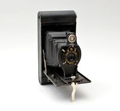 Vintage Kodak No 2 Folding Cartridge Hawk-Eye 120 Film Medium Format Camera by vtgwoo on Etsy