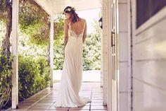 Cómo llevar un vestido de novia con transparencias © Cortesía de Pronovias