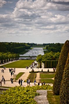 Versailles, France. One of the most breathtaking places I've ever been. Wish I would have appreciated it more when I was there....NEED to go back now that I am older......