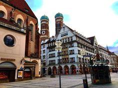 Globetrotter, Wanderlust, Yolo, Munich, Big Ben, Germany, Street View, Live, Building
