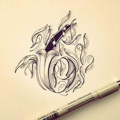 - Calligraphy Inspiration #9 - Typedose