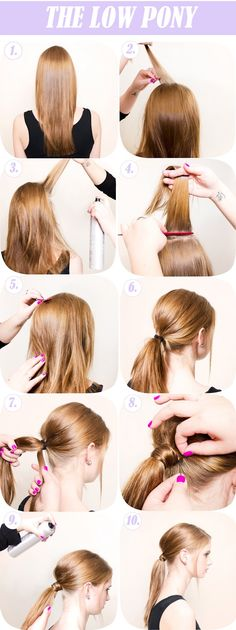 Easy Breezy Summer Hair: The Low Pony - Stylust Magazine