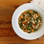 Low Calorie White Bean Kale Soup - will use veggie broth