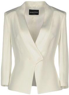Emporio Armani Women Blazer on YOOX. The best online selection of Blazers Emporio Armani. Blazer Outfits, Blazer Fashion, Blazers For Women, Suits For Women, Emporio Armani, Armani Blazer, Winter Jackets Women, Jacket Dress, Blazer Jacket