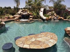 Family Fun: Testimonials for Paradise Pools. Visalia pool builder Paradise Pools by John Sweeney. swimming pools, water features, family swimming pool
