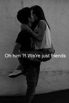 Hahaha awful close friends I would say