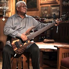 Abraham Laboriel and a Wyn Bass