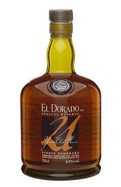Rum El Dorado 21 anos Tolle Geschenkideen mit Rum gibt es bei http://www.dona-glassy.de/Geschenke-mit-Rum:::22.html