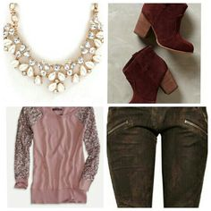 This is a cute outfit for the fall