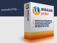 WikiLink Jacker Pro is the world's best and excellent 100,000/mo visitor backlink formula. It is the premium power back link building and also power content production software that will take all of your supporters on very high PR backlinks from one of the tough websites to get a lasting backlink on. You can Download WikiLink Jacker Pro Free from the link given below. It will also automatically provides your website a backhand of very high PR backlinks that result in raising the ranking ...