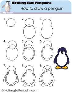 how to draw a baby penguin step 2 drawing stuffs pinterest baby penguins penguins and anime animals