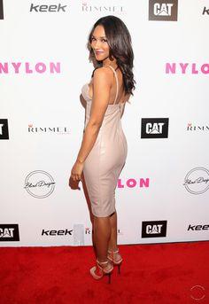 Candice Patton attends NYLON Magazine's Spring Fashion Issue Celebration