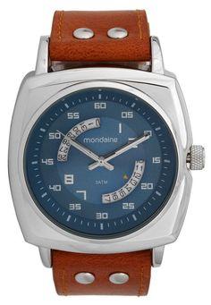 8d8e9d271b0 Relógio Mondaine 99061G0MVNH1 Prata Caramelo - Marca Mondaine Man Watches