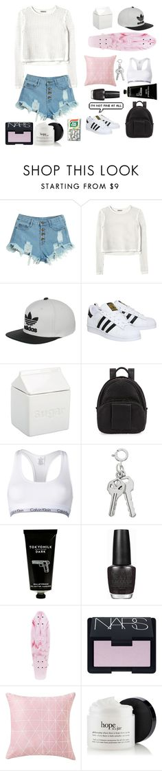 """Do you recall, not long ago..."" by bossbby11 ❤ liked on Polyvore featuring WithChic, Rebecca Taylor, adidas, BIA Cordon Bleu, Alexander Wang, Calvin Klein, TokyoMilk, OPI, NARS Cosmetics and women's clothing"