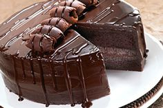 Don't you just love a moist chocolate cake ? I know I do, take a look at these flop proof recipes of Moist Chocolate Cake recipes. Chocolate Truffle Cake, Tasty Chocolate Cake, Chocolate Flavors, Chocolate Chocolate, Melted Chocolate, Chocolate Heaven, Making Chocolate, Chocolate Dreams, Chocolate Recipes