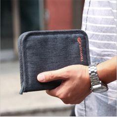 Travel Women Men Short  Passport Bags Holders Organizer Wallet Purse Card Case Free shipping #CLICK! #clothing, #shoes, #jewelry, #women, #men, #hats