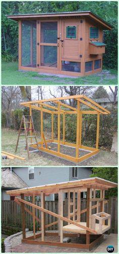 DIY Wichita Cabin Coop Free Plan & Instructions - DIY Wood Chicken Coop Free Plans