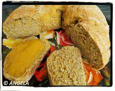 Razowy wieniec (chleb) z ziemniakiem i marchwią - Potato and Carrot Wholemeal Bread - Corona integrale alla patata e carota