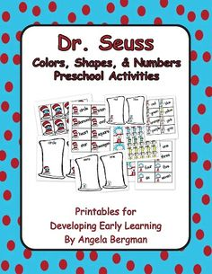 Dr. Seuss Colors, Shapes, and Numbers (Preschool Activities) 2.99