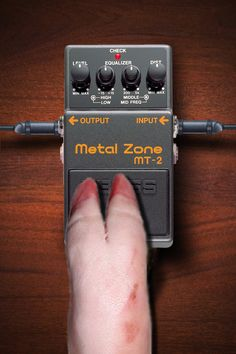 Metal Zone - A very wide range of distortion sounds with EQ and strong sustain. Boss Effects, Boss Pedals, Free Iphone Wallpaper, Guitar Pedals, Tech, Apple, Dog, Metal, Board