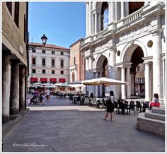 VICENZA, ITALY~ Had coffee every afternoon at the caffè on the corner.
