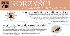 5 korzyści, które daje regularna praktyka Vinyasa Jogi. Aby zacząć praktykę już teraz zajrzyj na www.portalyogi.pl/vinyasa