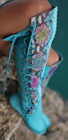 .~Boho boots~.