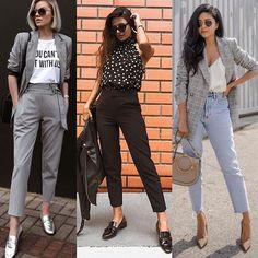 Office Fashion, Work Fashion, Fashion Models, Look Office, Office Looks, Looks Chic, Casual Looks, Minimal Wardrobe, Look Blazer