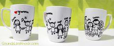 DIY Sharpie Mug for gramma