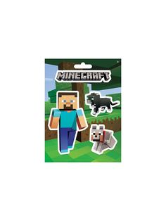Minecraft Mobs Pets Stickers - Stickers & Tattoos & Individual Party Supplies http://www.birthdayinabox.com/party-themes/all-parties/minecraft.html