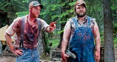 Tucker and Dale vs. Evil Awesome movie, it's on Netflix if you've never seen it. Horror Movies On Netflix, Best Horror Movies, Funny Movies, Horror Films, Good Movies, Funniest Movies, Awesome Movies, Comedy Movies, Awesome Stuff