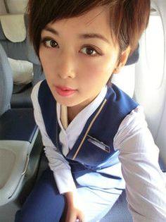 【China】 China Southern Airlines cabin crew / 中国南方航空 客室乗務員 【中国】 China Southern Airlines, Airline Cabin Crew, Military Women, Lady, China China, Clothing, Female Soldier