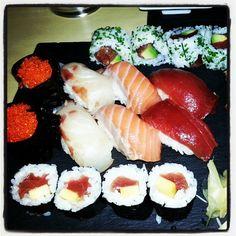 Noche de Sushi y Sashimi