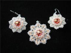 """ArtBiser - Workshop """"Earrings of Winter Sunset"""""""