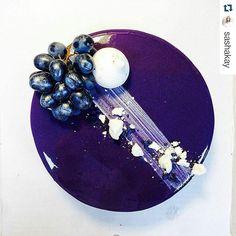 #Repost @sashakay with @repostapp ・・・ Люблю я мужские торты, они всегда достаточно минималистичныработу работаю #cook #cake #sweet #entremet #dark #grape #silver #bake #bakery #instafood #foodporn #surgut #montresor_surgut