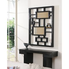 @Overstock - Contemporary wall mirrors have the power to transform the look of a room. Add the finishing touch to your room with this striking mirror, featuring a decorative display frame that could be used for anything from ornaments to makeup! http://www.overstock.com/Home-Garden/Contemporary-Mirror-Display-Frame/6852119/product.html?CID=214117 $234.99
