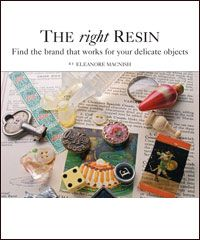 free ebook -- 4 kinds of resin jewelry projects -- with bonus UPDATED Resin Jewelry Tutorial -- Choosing The Right Resin by Eleanore Macnish  Wondering which resin jewelry making supplies are the best? With this article on working with resin, you will learn the difference between five types of resin for jewelry. Get the pros and cons of each resin so you select the correct type
