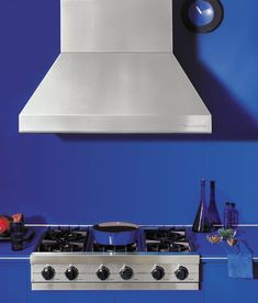 Manufacturer of the world's most premium kitchen range hood. Beautiful Kitchens, Appliances, Design Inspiration, Contemporary Kitchens, Blue, Gadgets, Accessories, Layout Inspiration, Home Appliances
