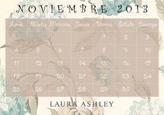Calendario Noviembre 2013