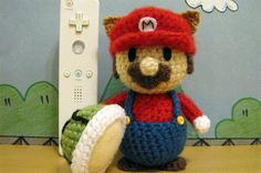 Crocheted Mario and friends are cute, crafty photo