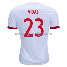 1694e8d35 Fussballtrikots günstig Bayern München 2017-18 Arturo Vidal 23 Dritte  Trikot Kurzarm. Günstige fußballtrikots 2016-17 ...