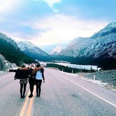 Go on a road trip with friends