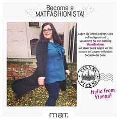 Become a MATFASHIONISTA! From Vienna with love 🇦🇹 Laden Sie Ihren Lieblings-Look auf Instagram und verwenden Sie den Hashtag #matfashion. Mit etwas Glück zeigen wir ihn danach auf unserer offiziellen Social Media Seite • 📸 Ανέβασε το αγαπημένο σου mat. look στο Instagram με hashtag: #matfashion και μπορεί να δεις την φωτογραφία σου στα κοινωνικά μας δίκτυα! Eυχαριστούμε τη φίλη μας @_curvect_ από την Βιέννη για την φωτογραφία της φορώντας #matfashion σύνολο! #matfashionistas #vienna