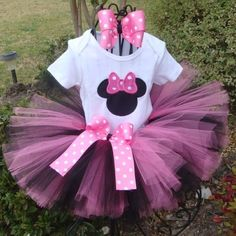 baby girl Minnie mouse bday party