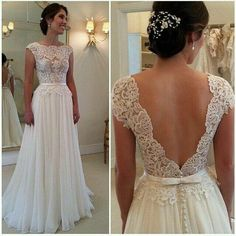 Cheap dresses for fat people, Buy Quality dress nipples directly from China dress japanese Suppliers: Vestidos De Novia Sexy Wedding Dress Vintage Boho Cheap Wedding Gown 2016 Robe De Mariage Bridal Gown Casamento A Line Prom Dresses, Long Wedding Dresses, Bridal Dresses, Wedding Gowns, Backless Wedding, Dress Prom, Evening Dresses, Formal Dresses, Party Dresses