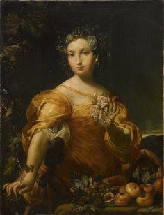 Giuseppe Maria Crespi, Ritratto di dama come allegoria dell'Abbondanza