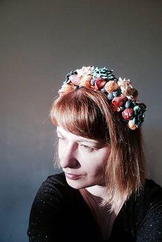 Martinuska / Tulipánová parta Handmade Headbands, Ale, Crown, Party, Jewelry, Corona, Jewlery, Jewerly, Ale Beer