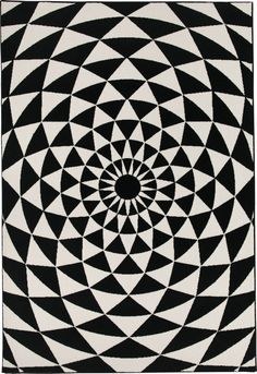 BIANCANEVE modern geometric black and white rug by Sitap Grey Carpet, Modern Carpet, Cheap Carpet Runners, Carpet Stairs, White Rug, Bedroom Carpet, Room Decor, Kids Rugs, Black And White