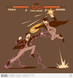 If either of them actually would have had super powers, I could see this happening.